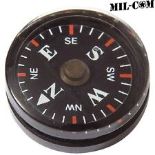 MIL-COM BUTTON COMPASS MILITARY COMPACT LIGHTWEIGHT HIKING SURVIVAL