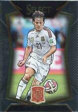 Panini Select Soccer 2015 Base Card #74 David Silva - Spain