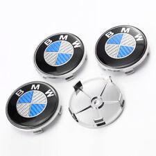 Fit For BMW Light Alloy Wheel Center Hub Cap Cover Carbon Fiber 68MM NEW