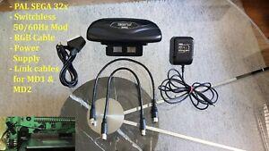 SEGA 32x   Switchless 50/60Hz Mod   PAL   NTSC-U   NTSC-J