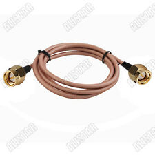 1pcs SMA Male to SMA Male Connector Adapter RF Pigtail Cable RG400 1M 3ft