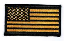 BLACK & GOLD AMERICAN FLAG