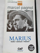 RARE VHS Video - MARIUS by Marcel Pagnol - Black & White FRENCH - PAL /SECAM VHS
