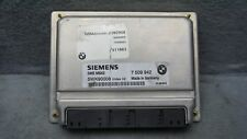 01 2001 BMW 330i Engine Computer Control Module ECM ECU PCM Part# 7509942