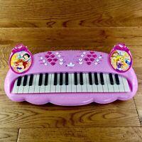 Disney Princess Electronic Keyboard Musical instrument Toys Pink VGC