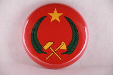 """Peoples Republic of Congo Communist Africa Flag 1970-1991 Button Badge Pin 1"""""""