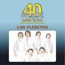 40 Artistas Y Sus Super Exitos by Los Plebeyos CD (2003-Fonovisa) Still Sealed