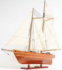 """The America's Cup America Sailboat Wooden Model 24"""" Built Yacht New"""