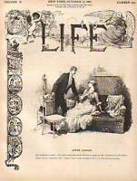 1887 Life October 13 - Volunteer wins the America's cup