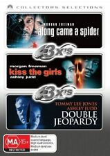 Along Came A Spider  / Kiss The Girls  / Double Jeopardy (DVD, 2007, 3-Disc Set)