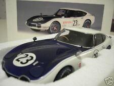 TOYOTA 2000 GT # 23 SCCA 1968 1/18 AUTOart 86815 voiture miniature de collection