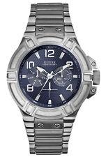 Guess W0218G2 Reloj de Hombre Pranayama - Carcasa de Acero Inoxidable Plata