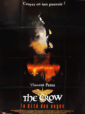 Affiche 120x160cm The Crow 2 /La Cité Des Anges/City Of Angels 1997 Tim Pope TBE