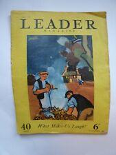 Keith Vaughan Leader Magazine 19 Nov 1949