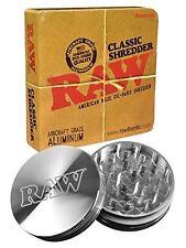 Raw Aircraft Grade Aluminium Super Shredder Grinder Set Smoking Rolling