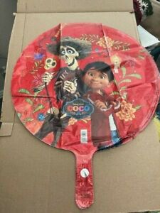 """Disney Coco Miguel Hector Birthday Party Decorations Mylar Foil Balloon 18"""" New!"""