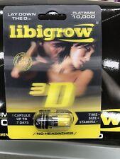 5X LIBGROW 3D PLATINUM 10000 HERBAL SUPPLEMENT !FREE SHIPPING!!