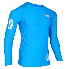 Kompressions T-Shirt in Premiumqualität_Spezielles Strechmaterial_Farbe blau