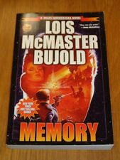Memory by Lois McMaster Bujold Baen (Paperback)< 9781476736730