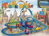 Kids toy Train Set, Track Racer - 82 PCS