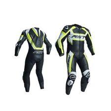 Combinaisons de motocyclette d'été jaune pour homme