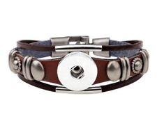 Leather Cuff Bracelets Ginger Snaps SnapJewellery Bracelet Noosa Style Tan