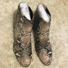 New Women's Maurices Snakeskin Fashion Boots Booties Size 10