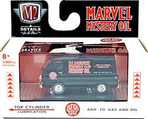 M2 1/64 1964 dodge a100 panel van MARVEL MYSTERY OIL. VHTF 🍀 O'reilly 🍀