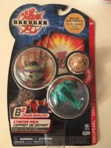 Bakugan Starter Pack styles and colors vary