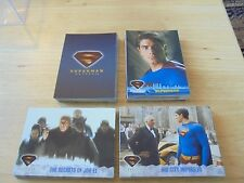 Superman Returns 2006 Topps Complete Trading Card Set NM/M Condition 1-90 DC