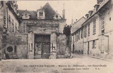 """CREPY-EN-VALOIS 23 maison de """"saint-joseph"""" rue saint-denis écrite 1924"""