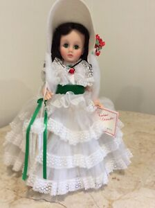"Vintage Madame Alexander ""SCARLET O'HARA"" doll 30 cm/12 inches. 1980's"