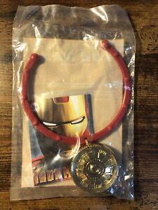 Burger King Kid's Meal Iron Man 2 Iron Man Necklace Toy 2010 NIP