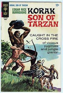Korak Son of Tarzan #18 Gold Key Comics High Grade VF 8.0