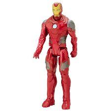 """MARVEL AVENGERS-SERIE TITAN HERO-Figura 12"""" - Iron Man-Battle Suit-Nuovo con Scatola"""