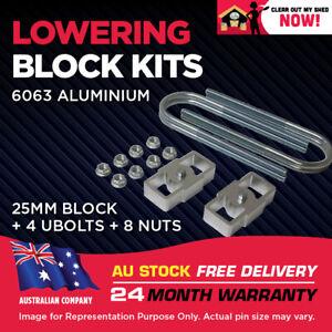 """Lowering Block Kit Ford Falcon EF EL AU BA BF BG UTE TRAY VAN WAGON 1"""" (25mm)"""