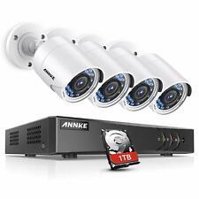 ANNKE Surveillance Camera System, 1080P 8CH DVR Home Security Camera System with