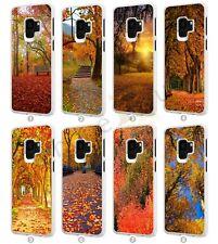 Árboles de belleza natural Teléfono Móvil Estuche Cubierta para Samsung Galaxy Modelos S09