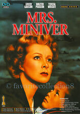 Mrs. Miniver (1942) - Greer Garson, Walter Pidgeon, Teresa Wright - DVD NEW