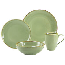 Nature Serie Single Set Green Geschirrset 4 teilig Naturgrün Creatable 19954 GB