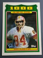 GARY CLARK 1988 TOPPS 1000 YARD CLUB FOOTBALL CARD # 5 B9521