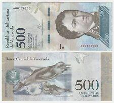 VENEZUELA 500 évolution 2016 P-New1 UNC Universel Billet