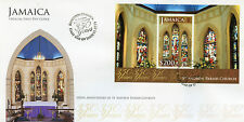 Jamaica 2014 FDC St Andrew Parish Church 350 Years 1v S/S Cover Churches