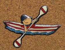 A33  PIN COBI MASCOTTE OLYMPIC OLYMPIQUE CANOE 92