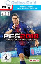 PES 18 - Pro Evolution Soccer 2018 Premium Edition PC Game Key Steam Code EU/DE