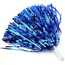 6PCS Cheerleading Pom Poms Sports Dance Ball Party Accessories (blue)