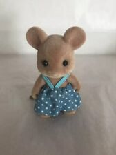 Sylvanian RARE BLUEBELL PROMOTION Large eared MOUSE CALICO CRITTERS EC