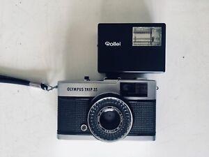 appareil photo argentique Olympus Trip 35