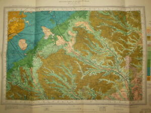 Vintage Geological Survey Map; Aylesbury Leighton Buzzard (1949) Buckinghamshire
