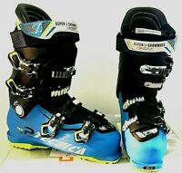 $600 Tecnica Ten.2 100 Alpine Mens Ski Boot  8.5 265, 9.5  275 Blue NIB Aspen